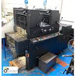 AB Dick 9985 2-colour Offset Press, 240volts, with Kompac Damping (please note this lot is located