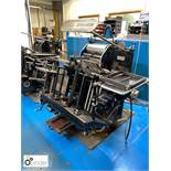 Heidelberg 10x15 Platen, 2 chases, serial number T134505E (please note this lot is located in