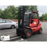 Lansing Linde H40D Diesel Forklift Truck, 4,000kg capacity, 1,784 hours, lift height 4,400mm, closed