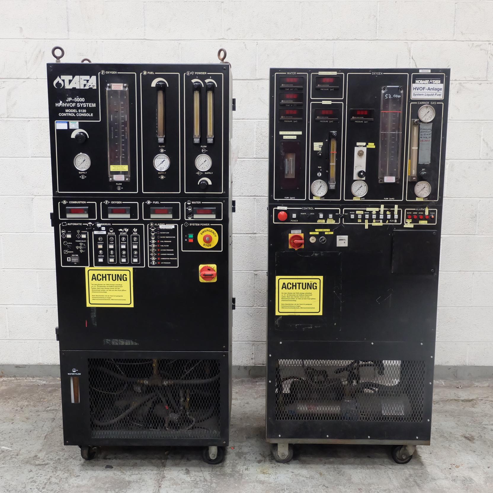 Lot 41 - A TAFA JP-5000 HP HVOF Flame Spray System with Mod