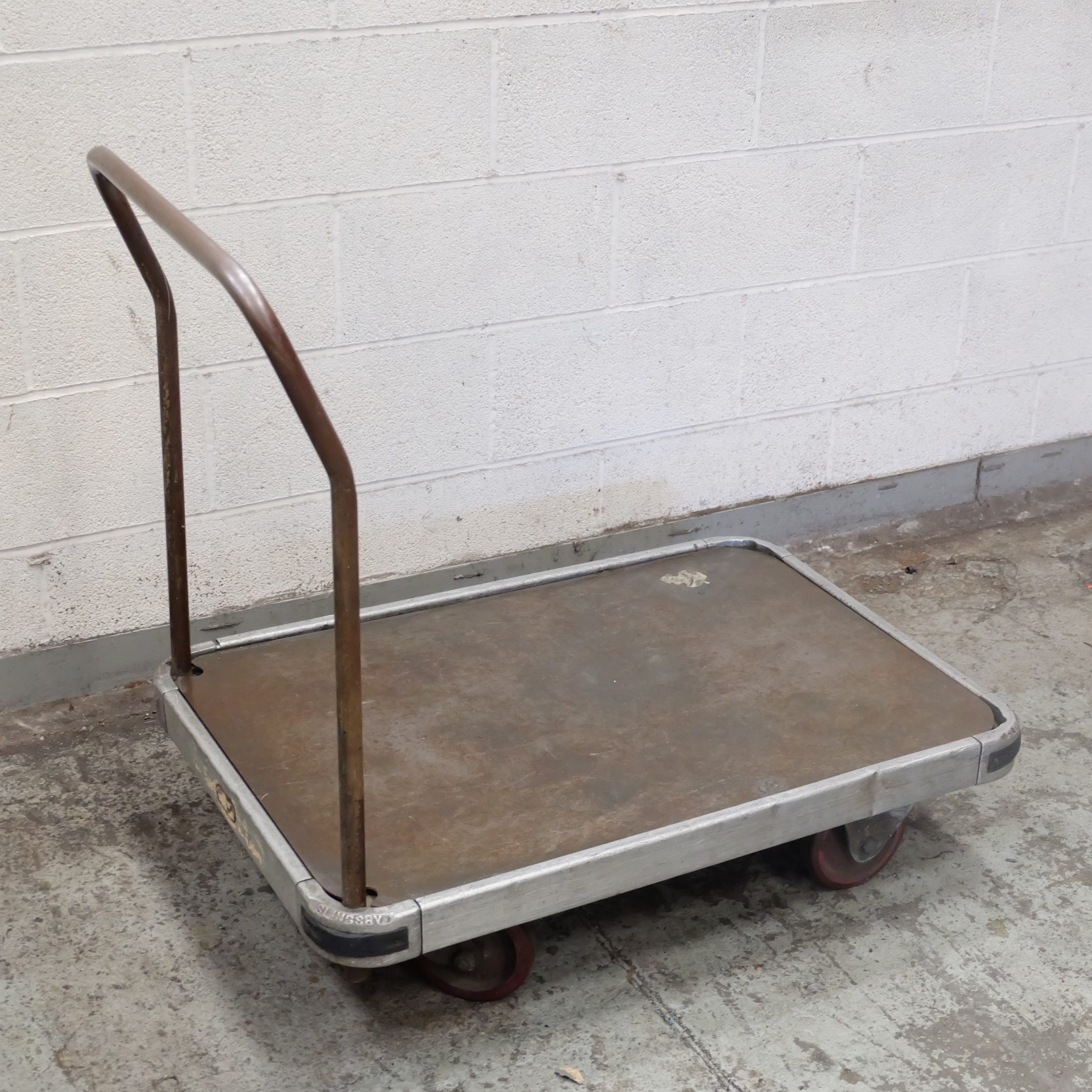 Lot 54 - A Slingsby Heavy Duty Trolley, 660mm x 960mm x 240