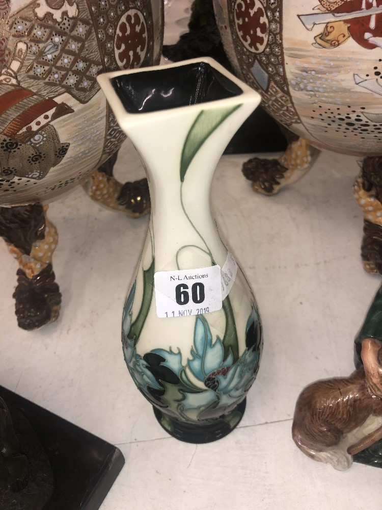 Lot 62 - An Emma Bossons Moorcroft posy vase