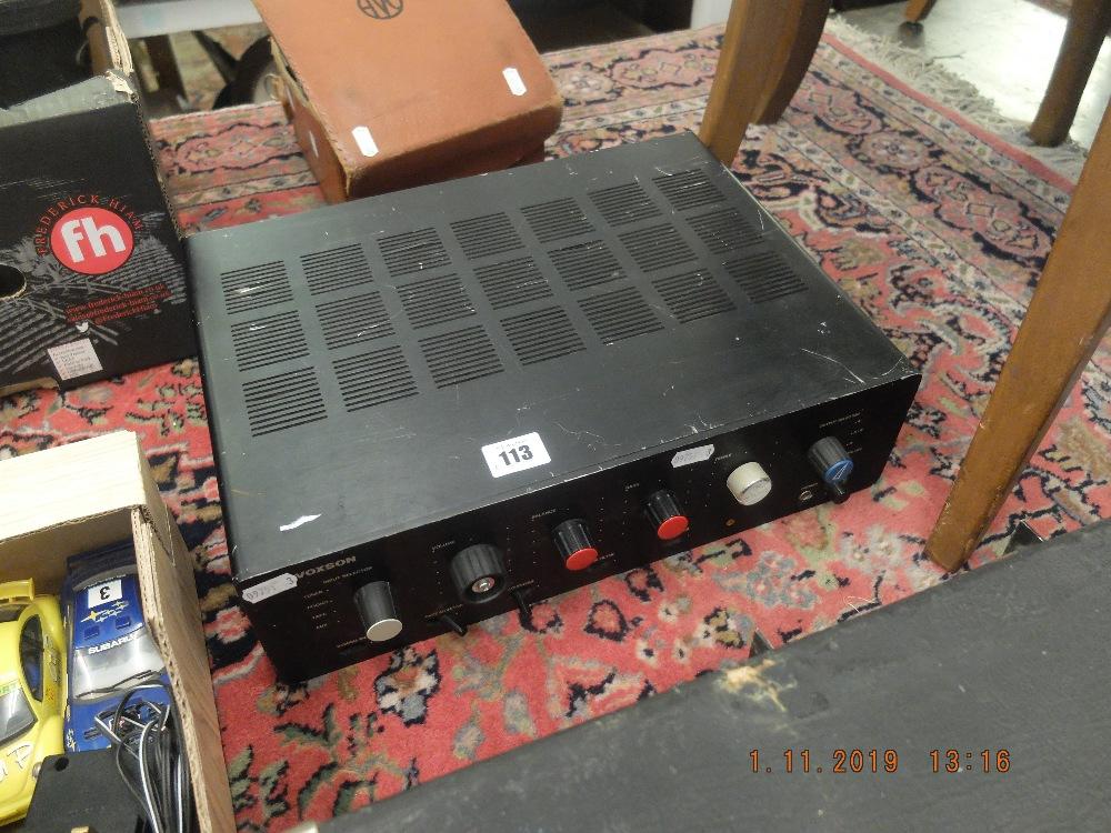 Lot 112 - An EAL PA150 150w Voxon H HIFI amp