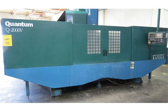 1998 kasuga quantum 4 axis vertical machining center mdl for Spl table 1998 99