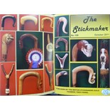 Stickmaking British Stickmakers Guild, The Stickmaker, No 1 - 124, Nov 1984 - July 2015 (includes