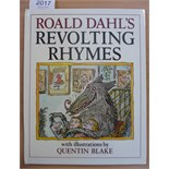 Dahl (Roald) Revolting Rhymes, 1984, Cape, reprint, signed by the author (1985), original