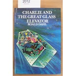 Dahl (Roald) Charlie and the Great Glass Elevator, 1984, George Allen & Unwin, seventh impression,