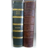 Dickens (Charles) Bleak House, 1853, Bradbury & Evans, first edition, first issue (internal flaws as