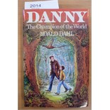 Dahl (Roald) Danny the Champion of the World, 1982, Cape, reprint, signed by the author (1985), dust