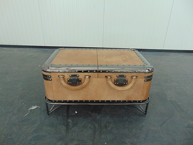 Vintage coffee table small with tinisso sand stand 80 x 50 for Coffee table 80 x 50