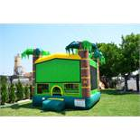 PALM TREE (WITH HOOP) BOUNCE HOUSE WITH 1HP BLOWER