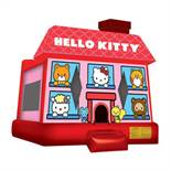 HELLO KITTY BOUNCE HOUSE WITH BLOWER