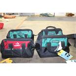 (4) ASSORTED TOOL BAGS