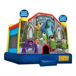MONSTER UNIVERSITY BOUNCE HOUSE WITH BLOWER