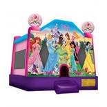 DISNEY PRINCESS 2 BOUNCE HOUSE WITH 1HP BLOWER