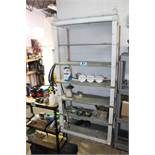"SHELVING UNIT WITH CONTENTS-80"" X 37"" X 17"""