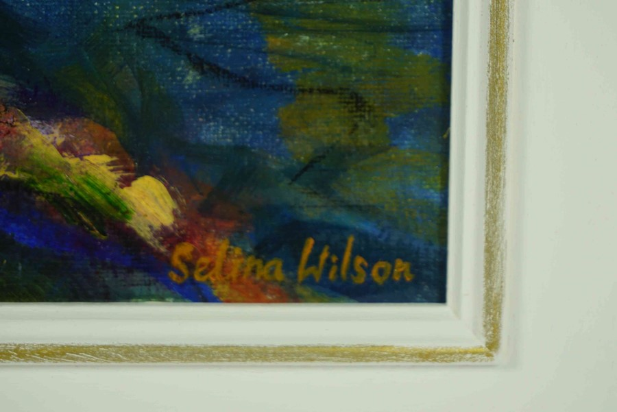 """Selina Wilson (British, B.1986) """"From Terrace to Toft"""", acrylic on canvas, signed lower right, - Image 3 of 3"""