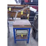 Surface Plate w/Table & Lamp