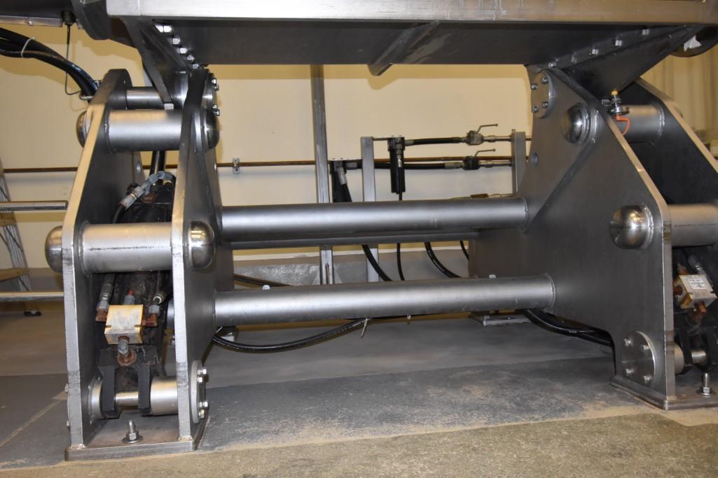 Lot 21 - Nellson Double Arm Sigma Mixer