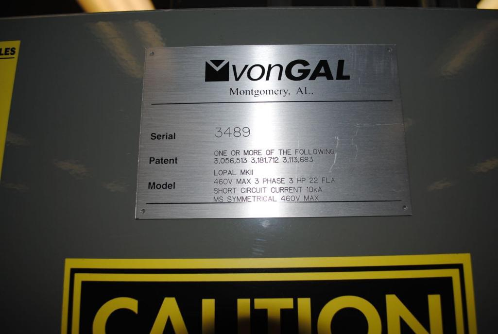 Lot 171 - Vongal Palletizer