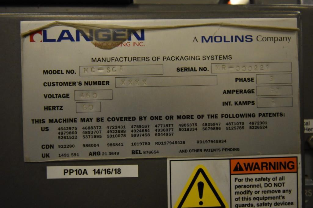 Lot 158 - Langen Box Closer/Gluer