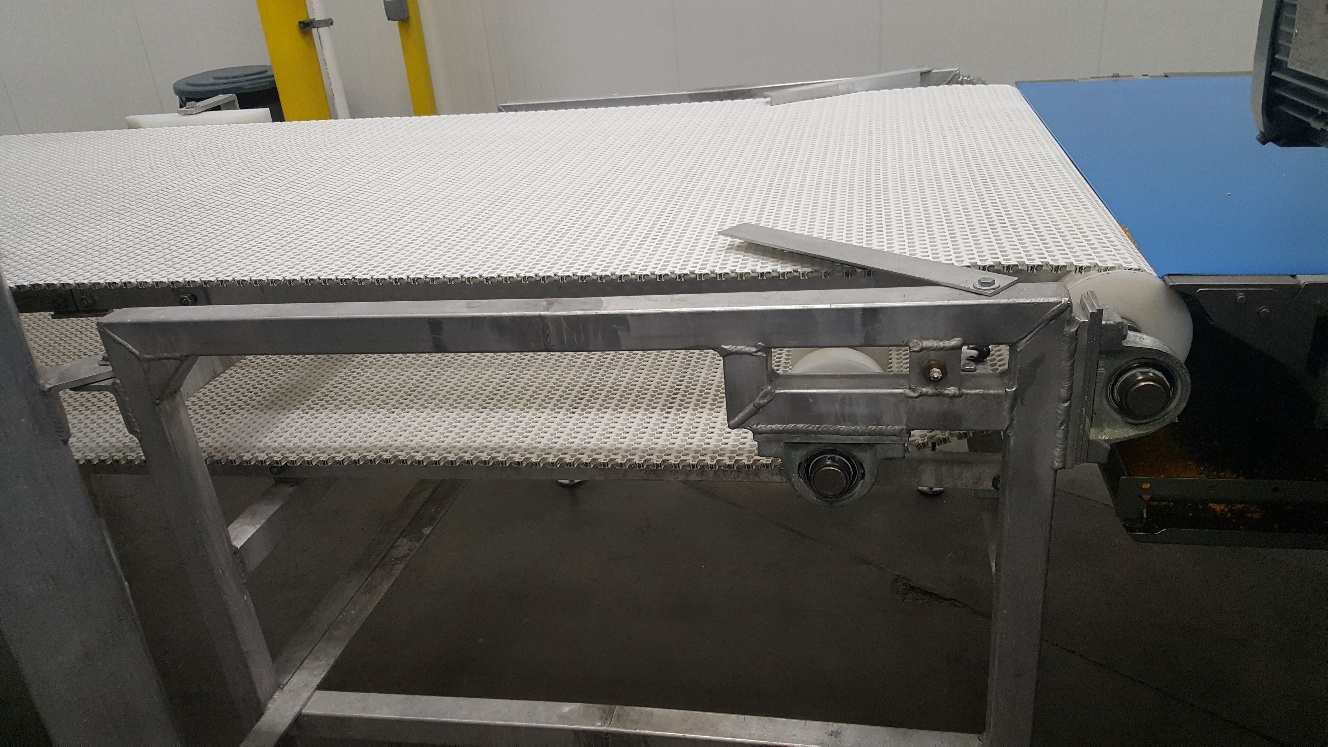 2014 IJ White Ambient Spiral Cooling Conveyor, 9-Tier, 26ft-8in Belt Outside Diameter, 48in Wide Int - Image 10 of 11