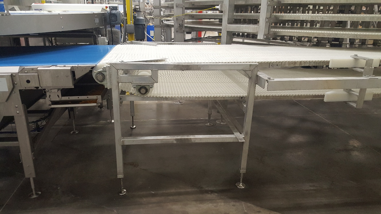 2014 IJ White Ambient Spiral Cooling Conveyor, 9-Tier, 26ft-8in Belt Outside Diameter, 48in Wide Int - Image 8 of 11