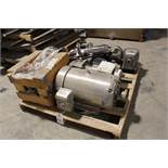 Pallet Lot Motors and Gearboxes
