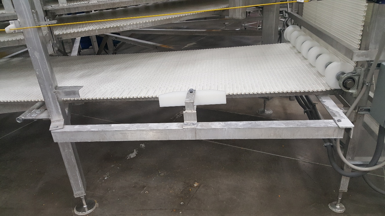 2014 IJ White Ambient Spiral Cooling Conveyor, 9-Tier, 26ft-8in Belt Outside Diameter, 48in Wide Int - Image 4 of 11