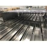 2018 Bosch Calha Vibratoria 9 Canais 9-Channel Vibratory Cracker Transport System, 24 | Subj to Bulk