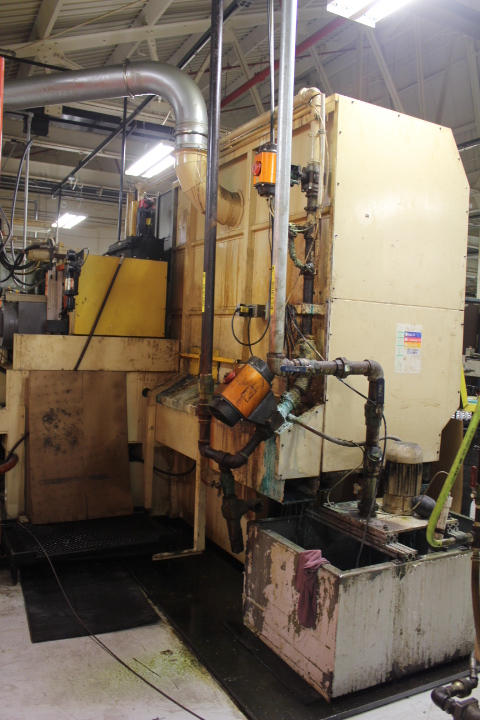 Lot 66 - Magerle, Model MFP125-35-45, 4-Axis CNC Flat & Profile Grinder