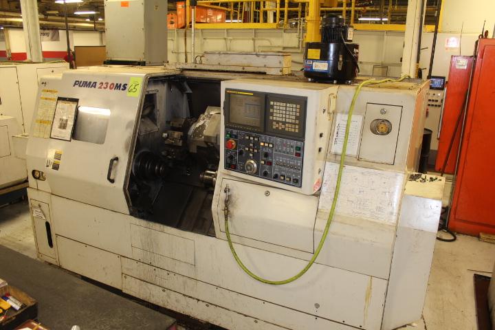 Lot 65 - Daewoo, Model Puma 230 MSB, CNC Lathe