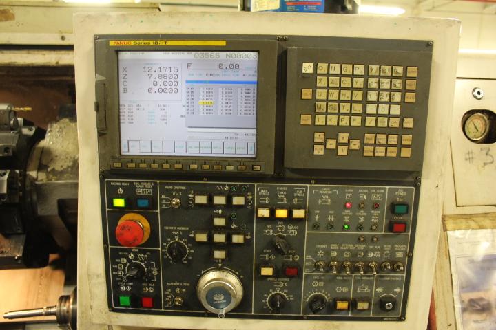 Lot 98 - Daewoo, Model Puma 230 MSB, CNC Lathe