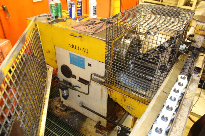 Lot 18 - Bishop, Model Mark I, Valve Slot Milling Machine