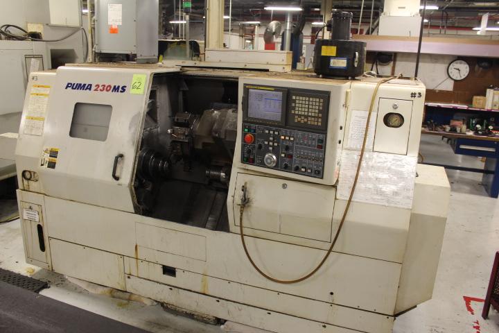 Lot 62 - Daewoo, Model Puma 230 MSB, CNC Lathe