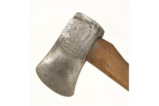 An American Quotplumb Championquot Felling Axe C1920 With