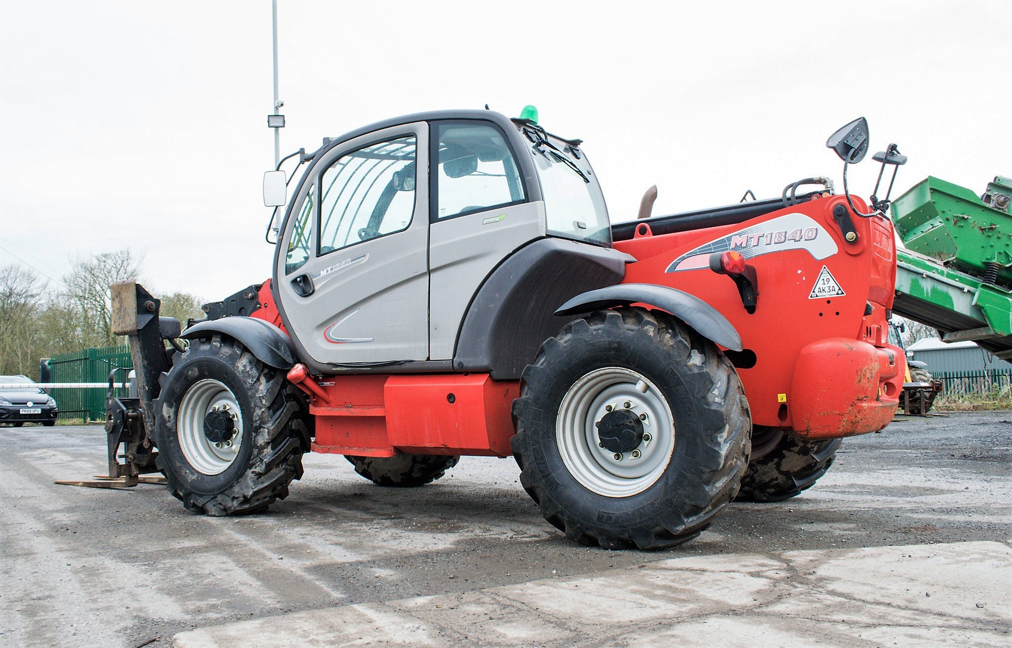 Manitou MT1840 18 metre telescopic handler Year: 2014 S/N: 942628 Recorded Hours: 4160 c/w sway - Image 3 of 22