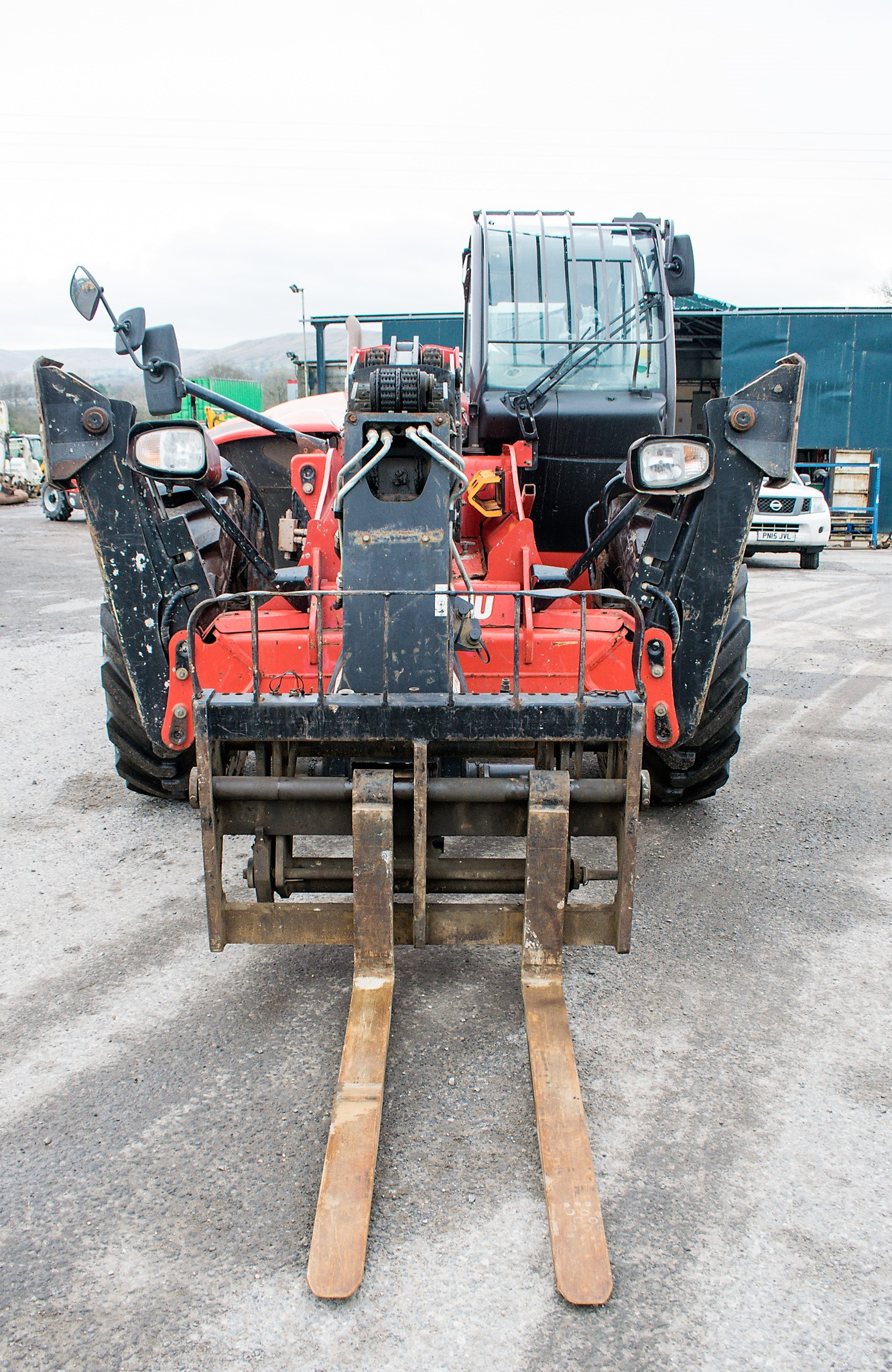 Manitou MT1840 18 metre telescopic handler Year: 2014 S/N: 942628 Recorded Hours: 4160 c/w sway - Image 5 of 22