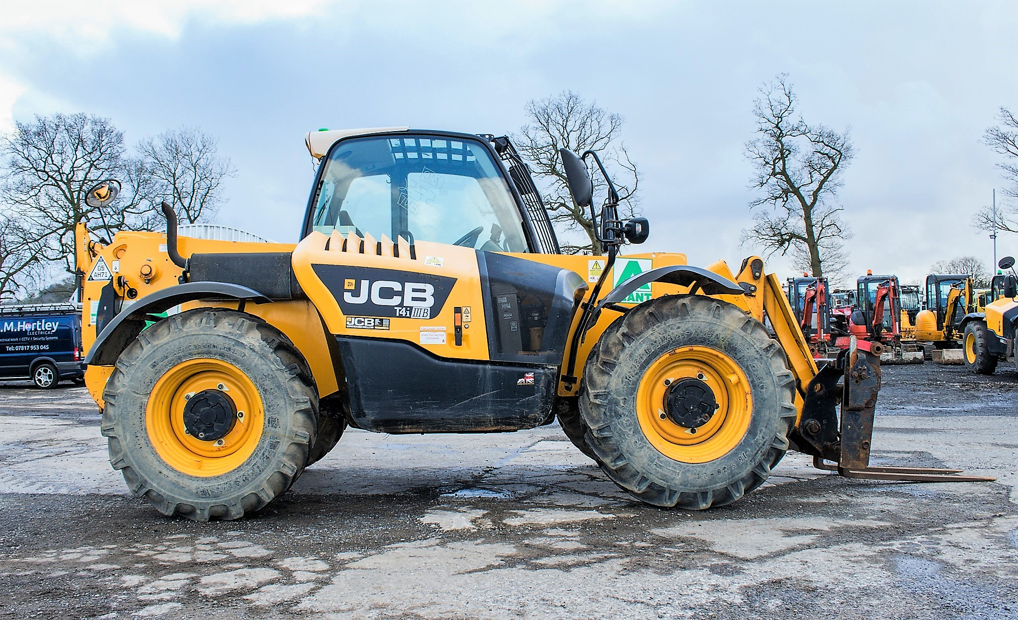 JCB 531-70 7 metre telescopic handler Year: 2013 S/N: 2176575 Reg No: MX13 PHY Recorded Hours: - Image 8 of 19