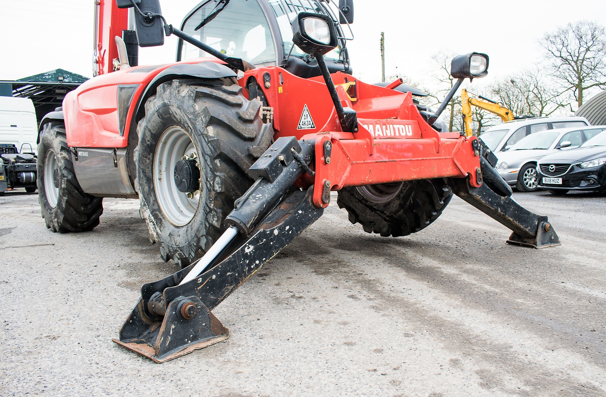 Manitou MT1840 18 metre telescopic handler Year: 2014 S/N: 942628 Recorded Hours: 4160 c/w sway - Image 14 of 22