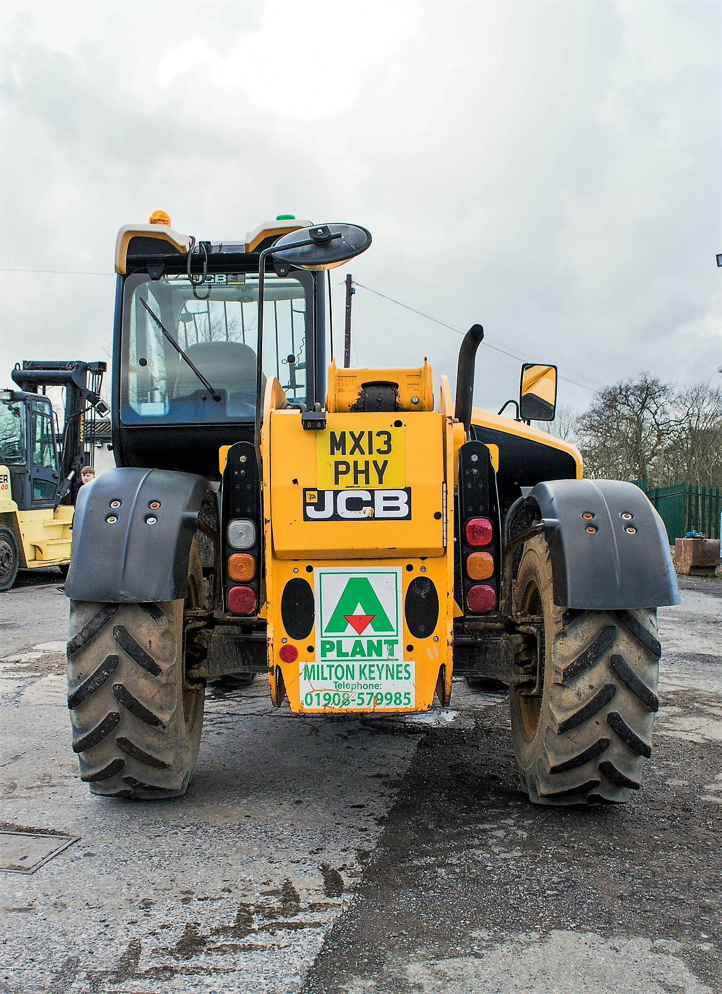 JCB 531-70 7 metre telescopic handler Year: 2013 S/N: 2176575 Reg No: MX13 PHY Recorded Hours: - Image 6 of 19