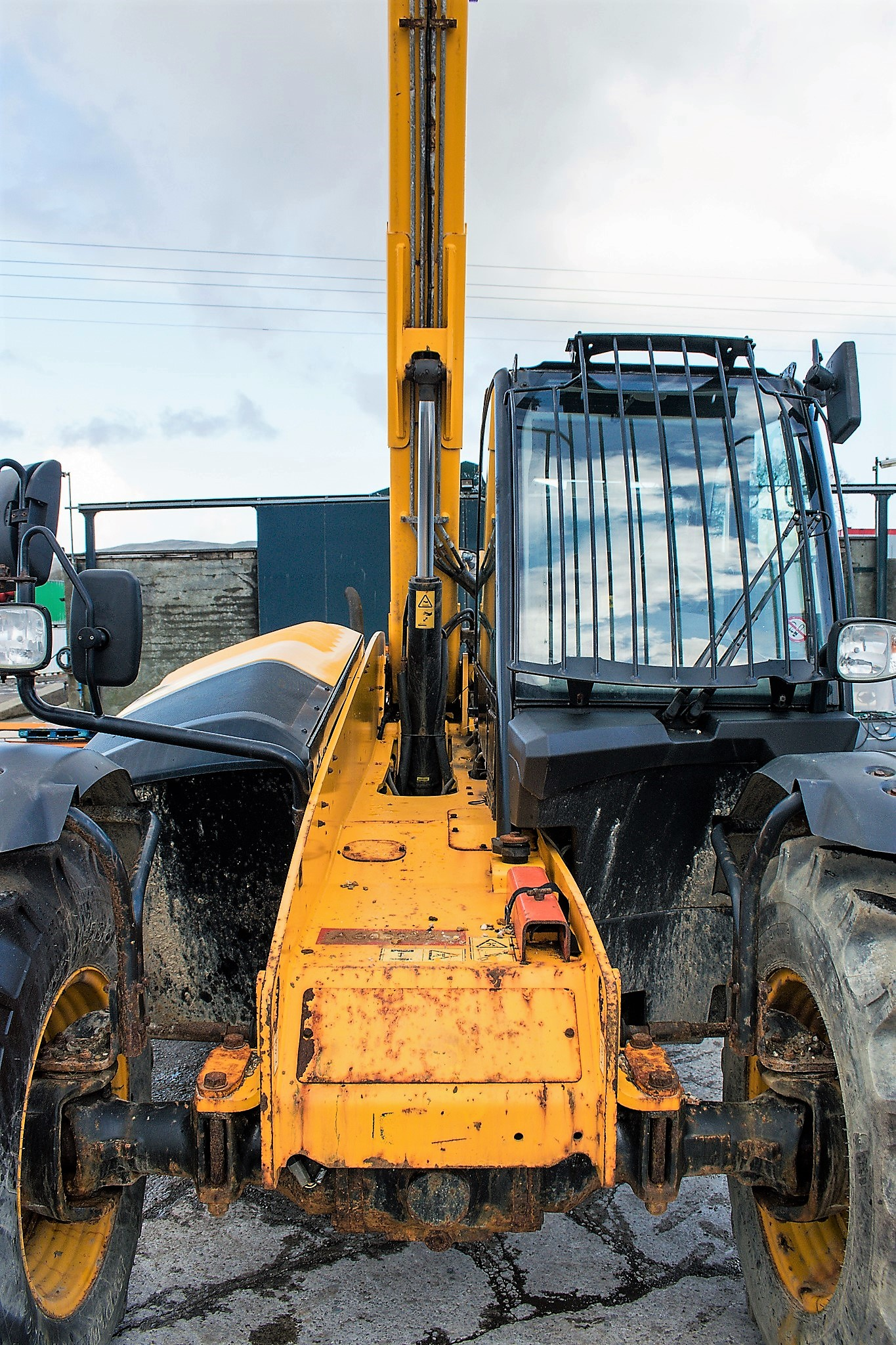 JCB 531-70 7 metre telescopic handler Year: 2013 S/N: 2176575 Reg No: MX13 PHY Recorded Hours: - Image 14 of 19