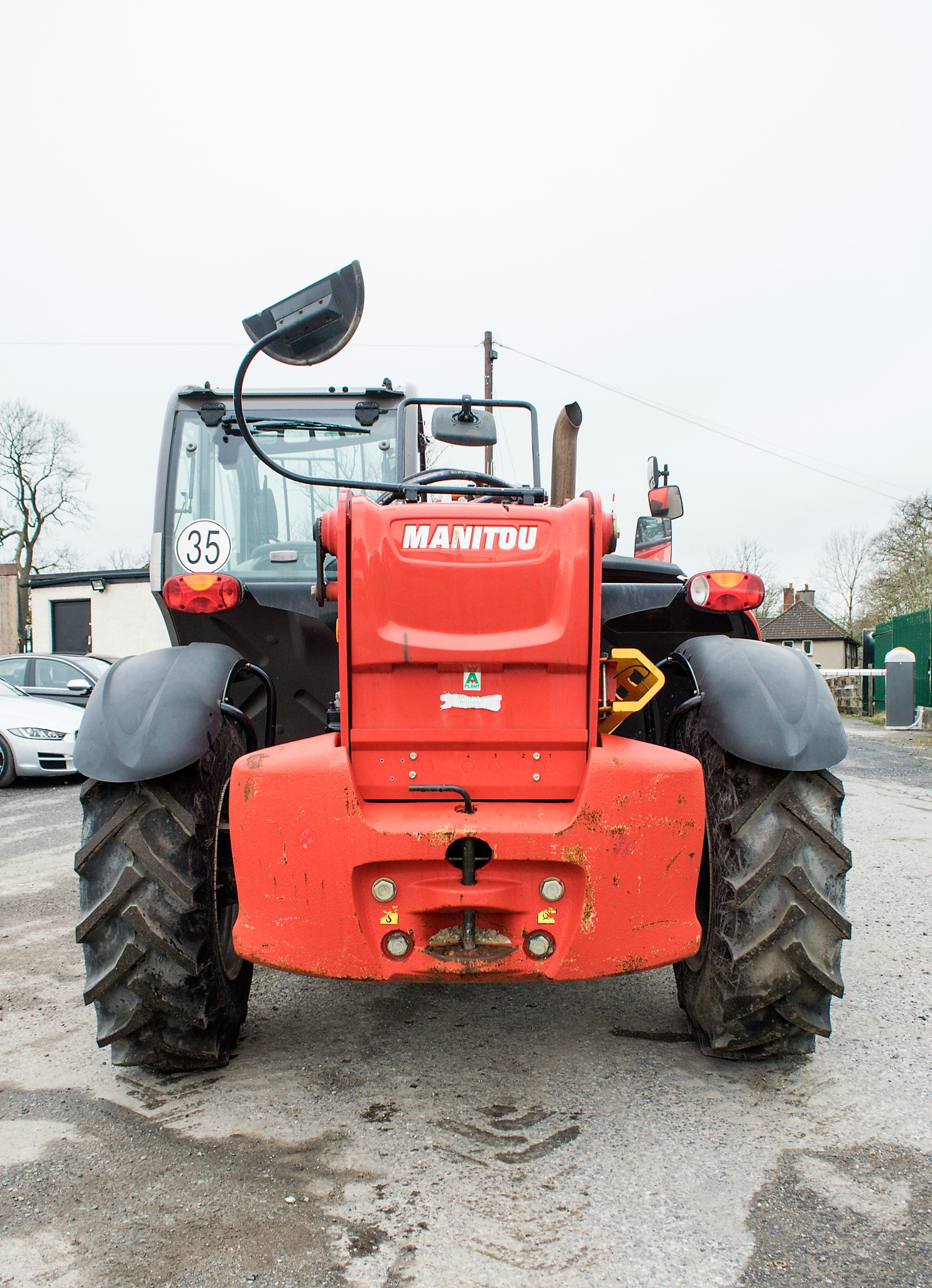 Manitou MT1335 13 metre telescopic handler Year: 2014 S/N: 941567 Recorded Hours: 1907 c/w sway - Image 6 of 22