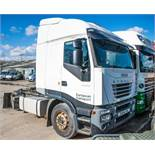 Iveco 430 Stralis 4 x 2 tractor unit Registration number: MX54 TFN Date of first registration: 08/
