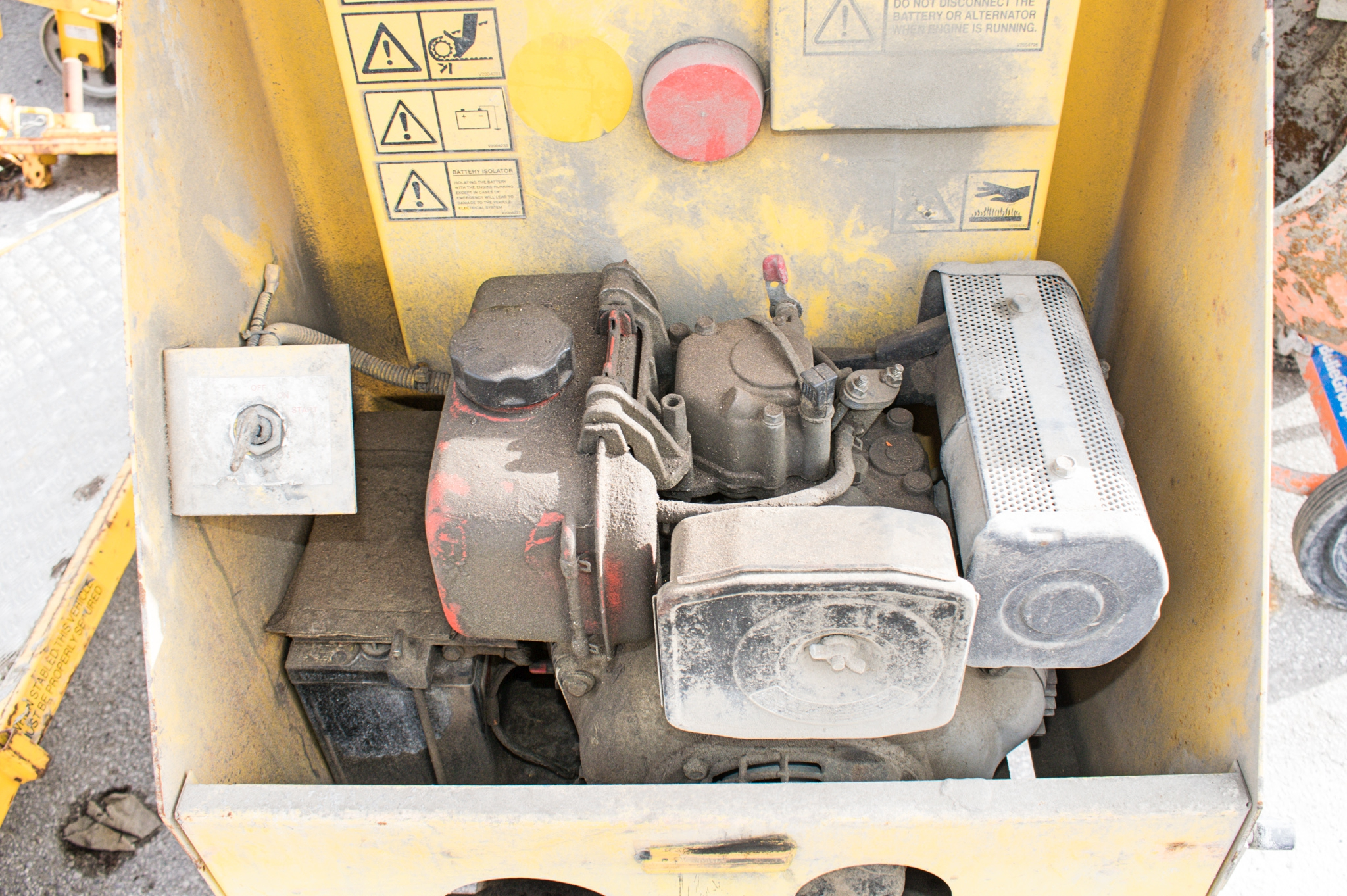 Winget electric start diesel driven site mixer A601569 - Image 3 of 3
