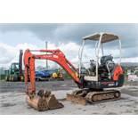 Kubota KX36-3 1.5 tonne rubber tracked mini excavator Year: 2004 S/N: 2Z055715 Recorded Hours: