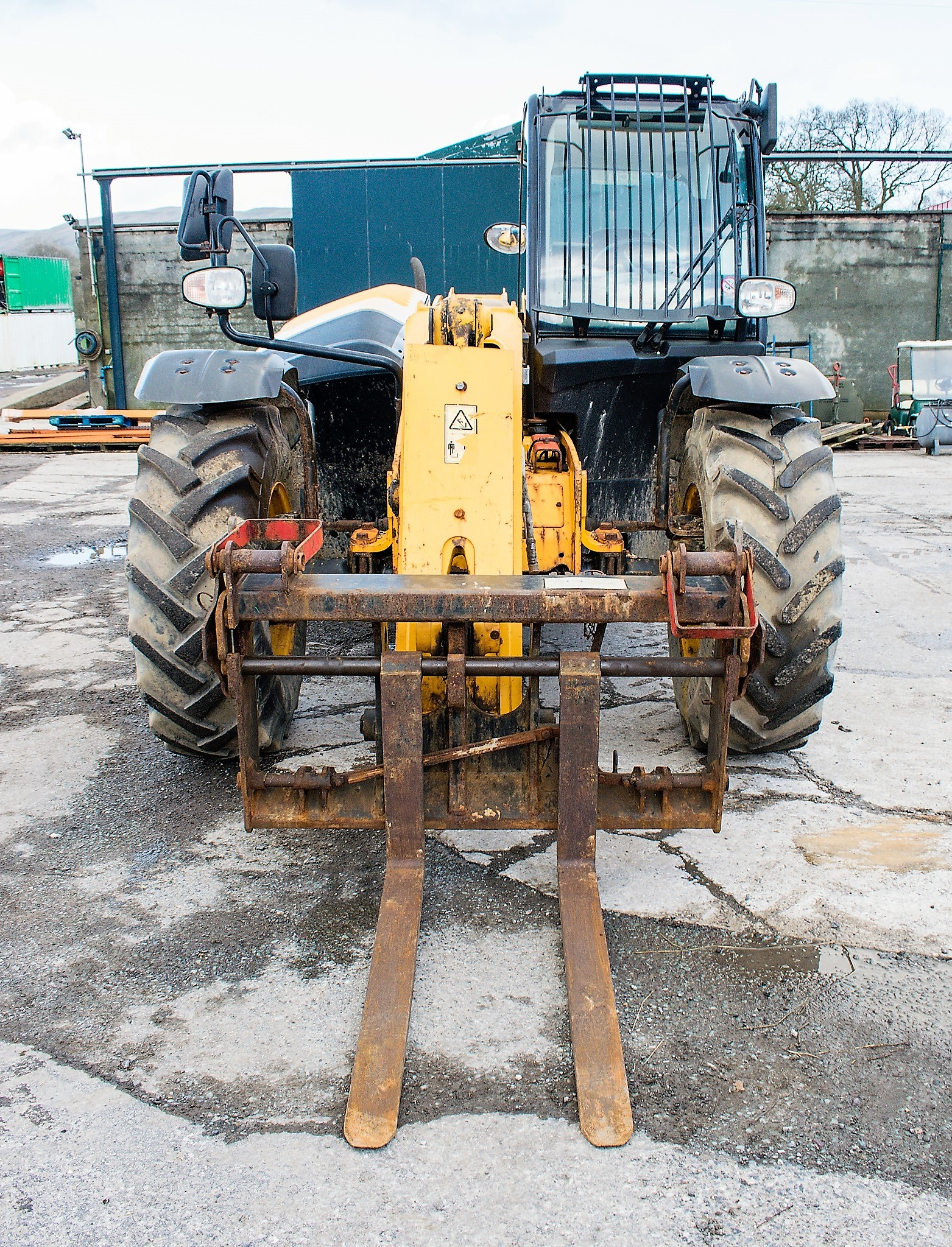 JCB 531-70 7 metre telescopic handler Year: 2013 S/N: 2176575 Reg No: MX13 PHY Recorded Hours: - Image 5 of 19
