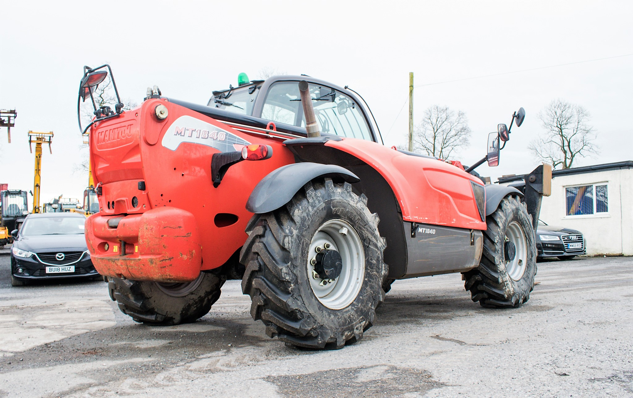 Manitou MT1840 18 metre telescopic handler Year: 2014 S/N: 942628 Recorded Hours: 4160 c/w sway - Image 4 of 22