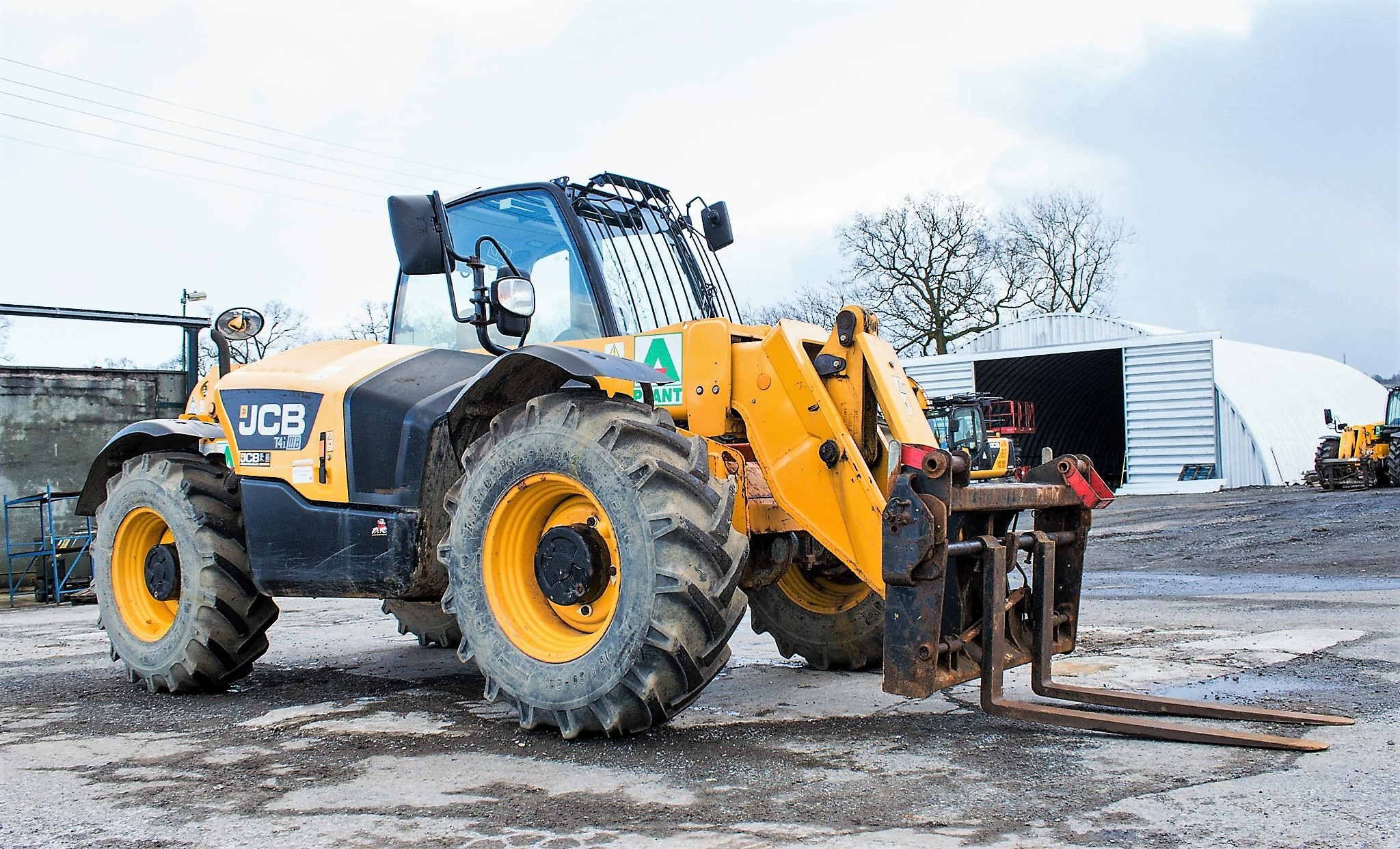 JCB 531-70 7 metre telescopic handler Year: 2013 S/N: 2176575 Reg No: MX13 PHY Recorded Hours: - Image 2 of 19