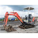 Kubota KX36-3 1.5 tonne rubber tracked mini excavator Year: S/N: 7077625 Recorded Hours: 3396